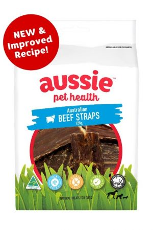aussie pet health beef straps for dogs