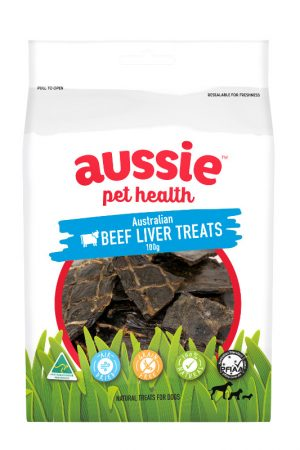 Beef Liver Treats Bag
