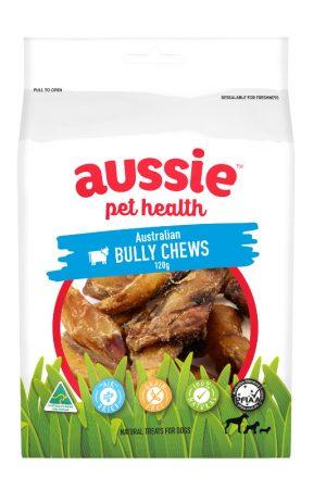 bully chews bag